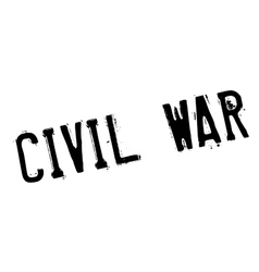 Civil war rubber stamp vector