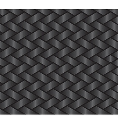Dark weave pattern vector image