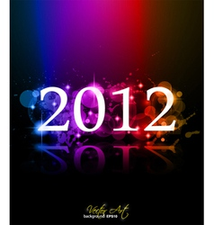 2012 new year vector