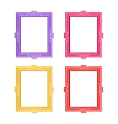Photo frames concept vector