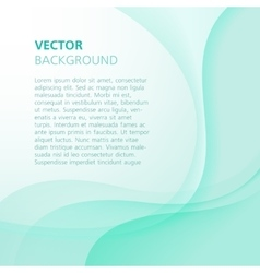 Abstract green background for presentation vector