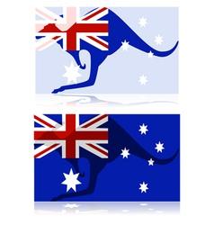 Australian kangaroo vector