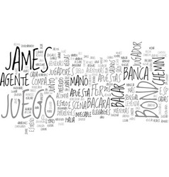 Bacara el preferido del agente text word cloud vector
