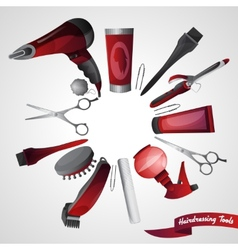 Barber Shop Concept vector image