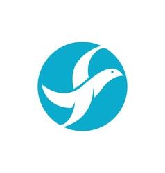 Dove logo vector image vector image