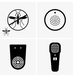Electric mosquito repellent vector