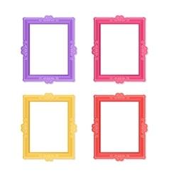 Photo frames concept vector image
