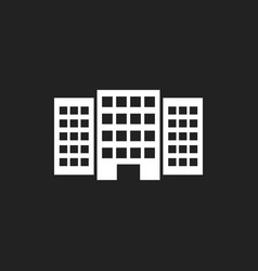 Building icon business vector