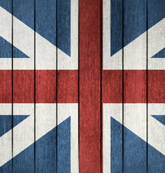 Grunge Flag Of Great Britain vector image vector image