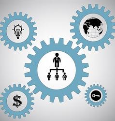 teamwork concept vector image