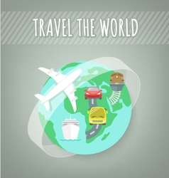 Travel Transport Concept vector image vector image