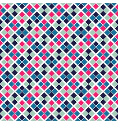 Retro beauty seamless pattern vector