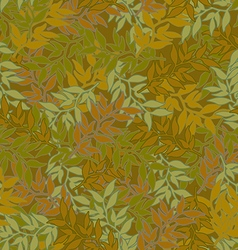 Background camouflage colors green leaves vector
