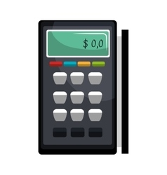 Calculator isolated icon vector image