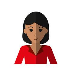 Happy woman icon image vector