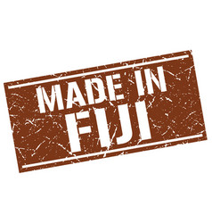 Made in fiji stamp vector