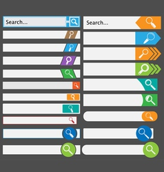 Search Form vector image vector image