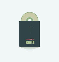 Your audio bible vector