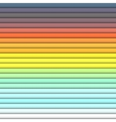 Bright color horizontal rectangles colorful vector