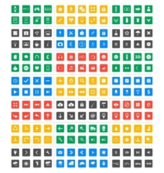 Universal icon set - material design vector