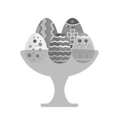 Eggs holder vector