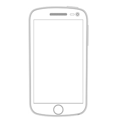Realistic detailed smartphones vector