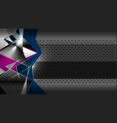 Abstract geometric modern backgrounds vector