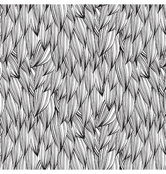 Abstract line drawing monochrome pattern vector image