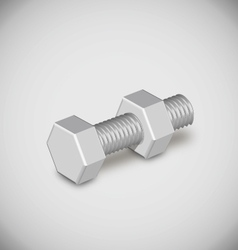 bolt nut vector image