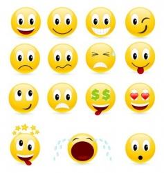 smiles vector image