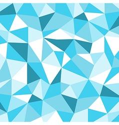 Blue ice mosaic background creative business desi vector
