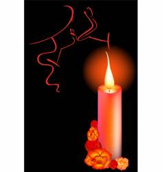 candle vector image