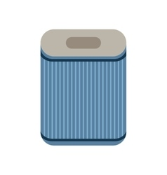 Filter Flat icon isolated on a white background vector image vector image