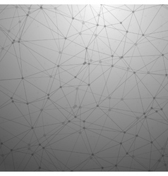 Futuristic wireframe background polygonal vector