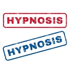 Hypnosis rubber stamps vector