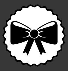 Bow design vector