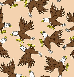 Eagle pattern vector
