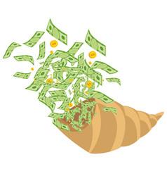 Abundance of money vector