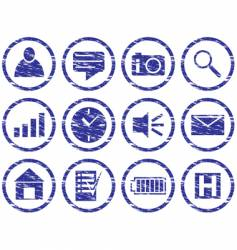 gadget icons vector image