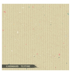 Simple cardboard texture vector