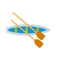 Rowing sports vector