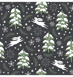 Seamless xmas pattern vector