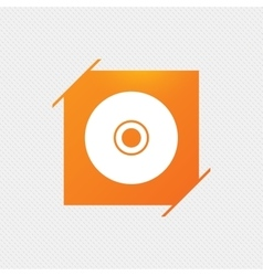 Cd or dvd sign icon compact disc symbol vector