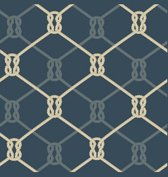 Ropes background blue vector