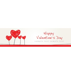 Valentine design background vector
