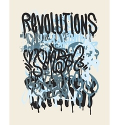 Fashion graffiti vector