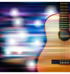 Abstract blue white music background with acoustic vector