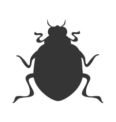 Bettle scarab insect icon graphic vector