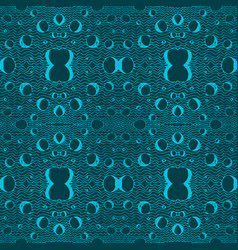 blue tiles with seamless pattern vector image vector image