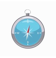 Compass icon cartoon style vector image